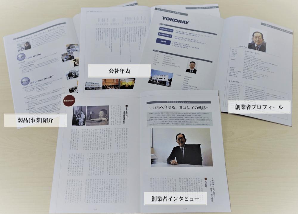 創業の雑誌構成イメージ